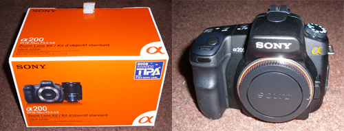 My Sony A200
